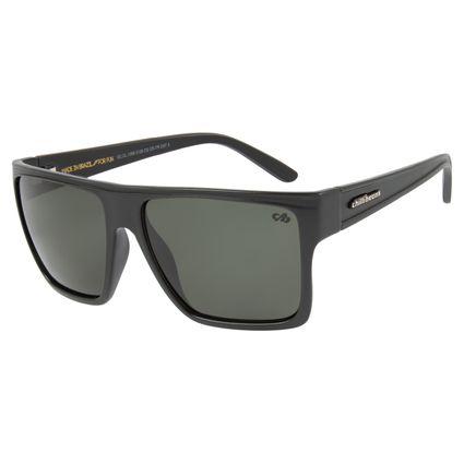 Óculos de Sol Unissex Chilli Beans Essential Quadrado Verde Escuro OC.CL.1058-3126