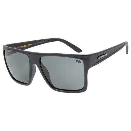 Óculos de Sol Unissex Chilli Beans Essential Quadrado Cinza Escuro OC.CL.1058-9028
