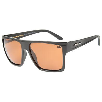 Óculos de Sol Unissex Chilli Beans Marrom Polarizado Essential OC.CL.2203-3102
