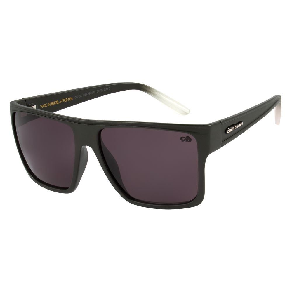 Óculos de Sol Unissex Chilli Beans Essential Quadrado Verde Musgo OC.CL.1058-8901
