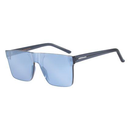 Óculos De Sol Unissex Block Quadrado Azul Escuro OC.CL.2275-0790