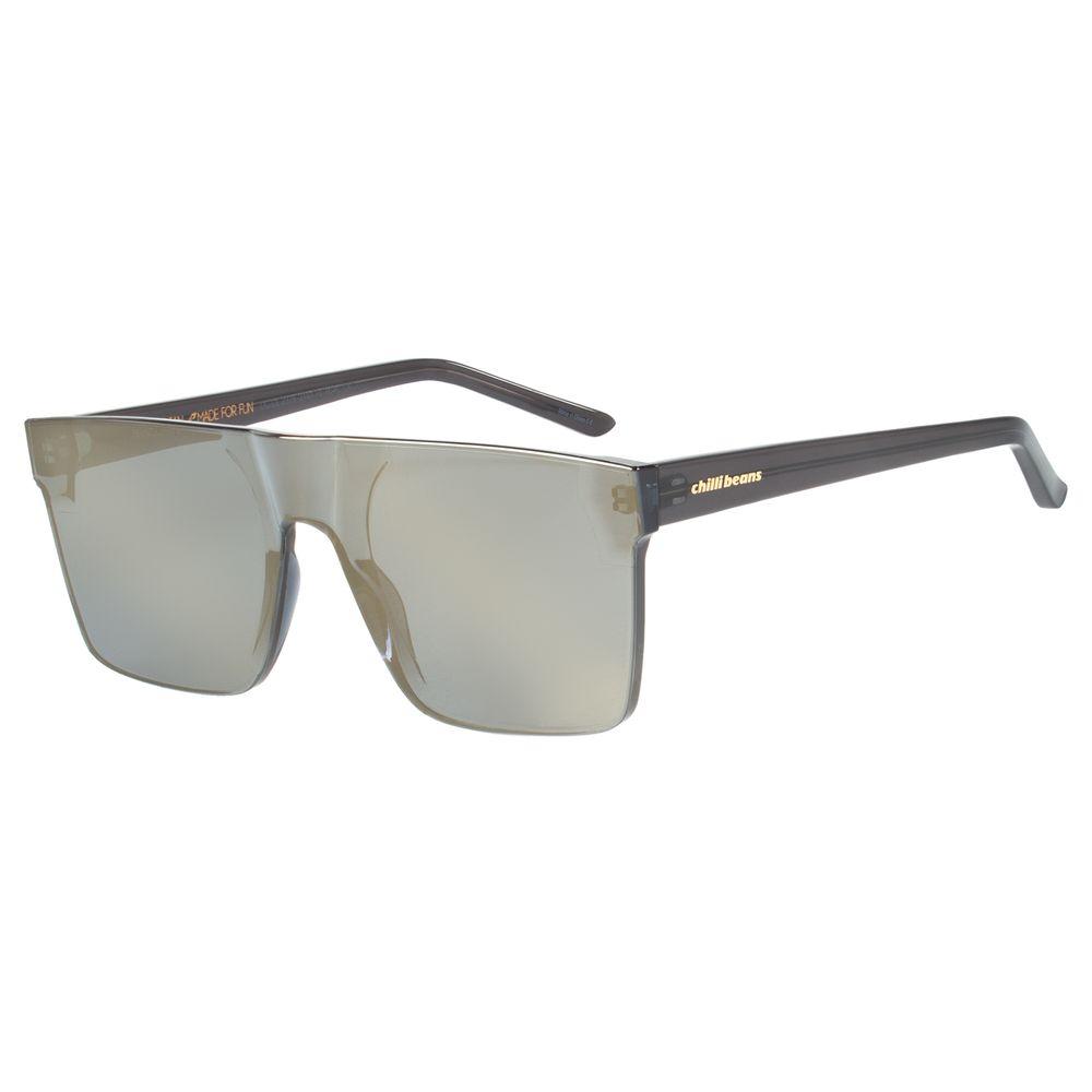 Óculos De Sol Unissex Block Quadrado Preto OC.CL.2275-2101