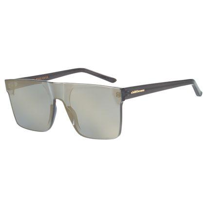 Óculos De Sol Unissex Chilli Beans Block Quadrado Preto OC.CL.2275-2101