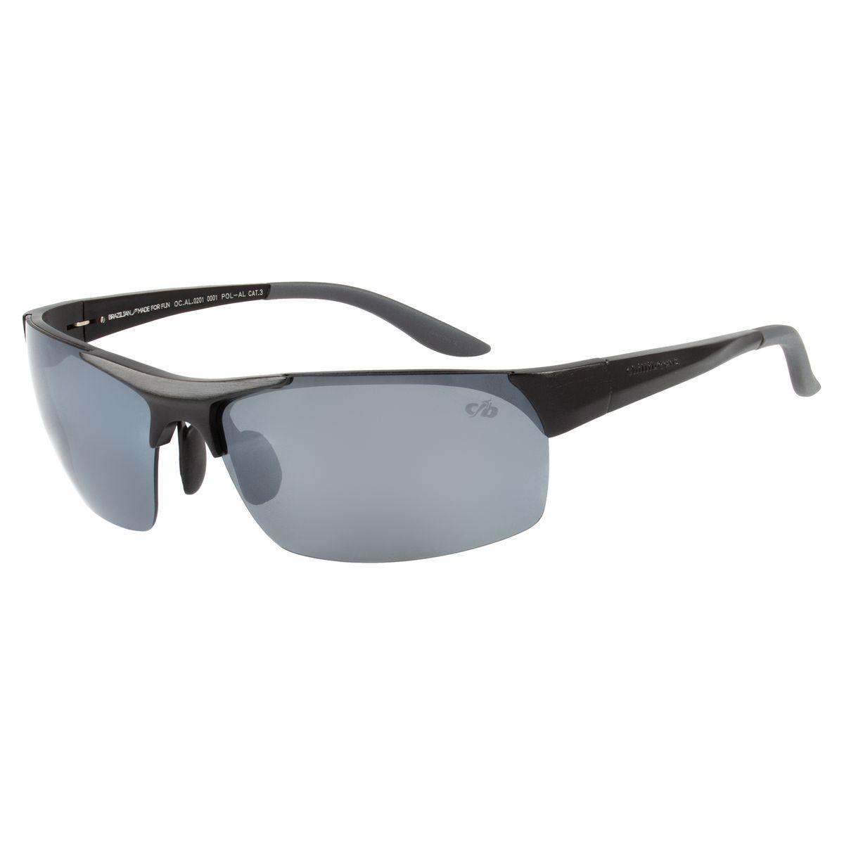55802e19883b3 Óculos de Sol Masculino Esportivo Chilli Beans Preto 0201 - Chilli Beans