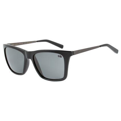 Óculos de Sol Unissex Chilli Beans Quadrado Classic Preto OC.CL.2525-0401