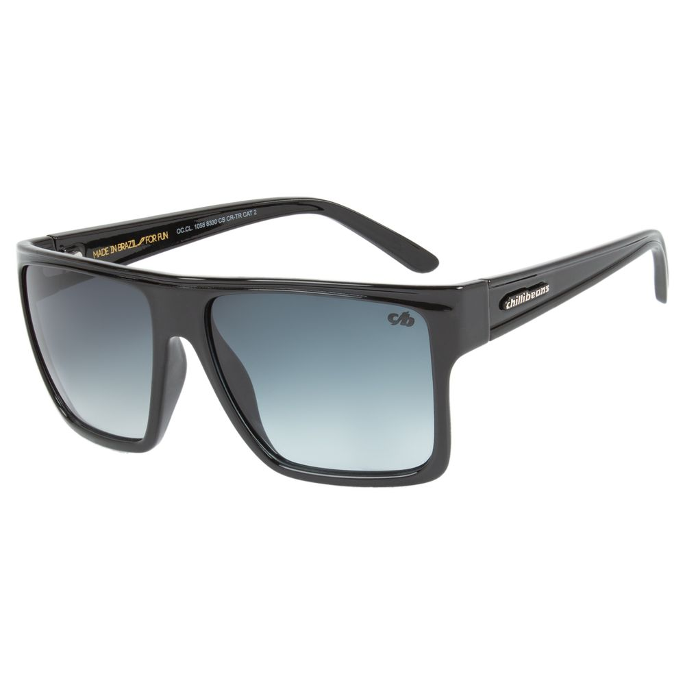 Óculos de Sol Unissex Chilli Beans Quadrado Degradê Essential Azul OC.CL.1058-8330