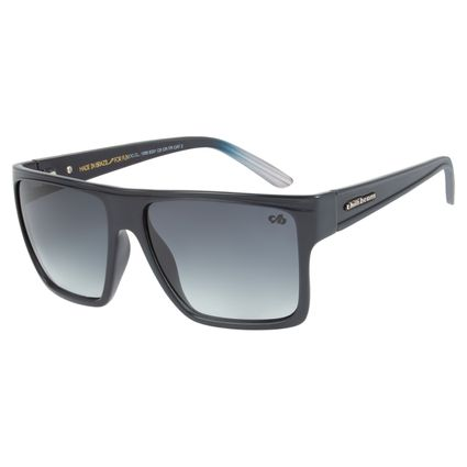 Óculos de Sol Unissex Chilli Beans Essential Quadrado Preto Fosco OC.CL.1058-8331