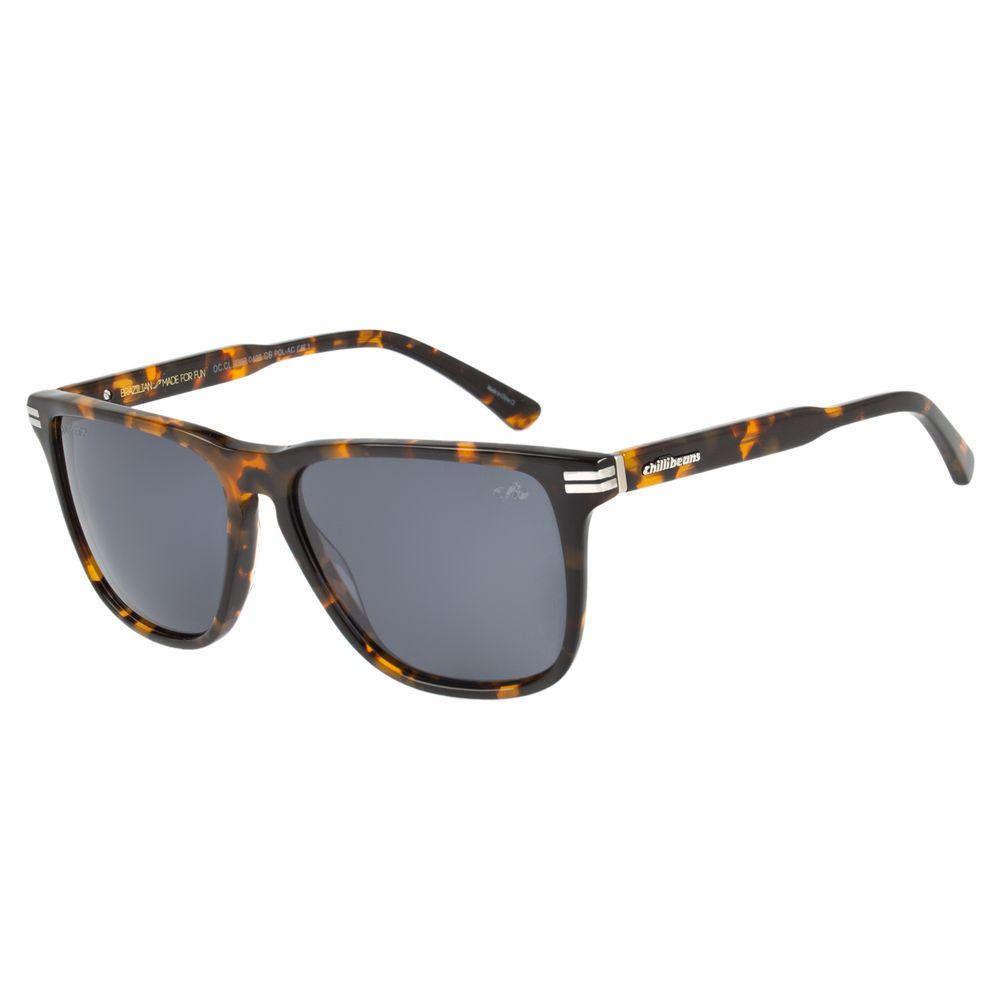 Óculos de Sol Masculino Chilli Beans Tartaruga 2382 - OC.CL.2382.0406 M.  OC.CL.2382.0406 890354ba42