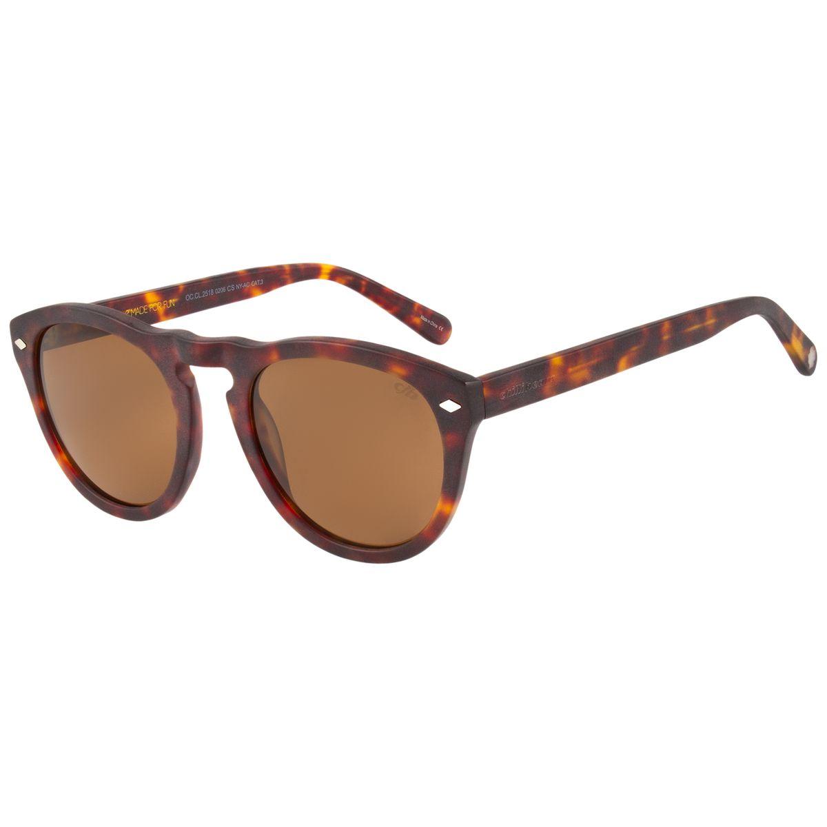 f387afb71 Óculos de Sol Masculino Vintage Por Marcelo Sommer Tartaruga 2518 -  OC.CL.2518.0206 M. REF: OC.CL.2518.0206. OC.