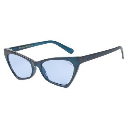 Óculos de Sol Feminino Vintage Por Marcelo Sommer Gatinho Azul OC.CL.2522-0808