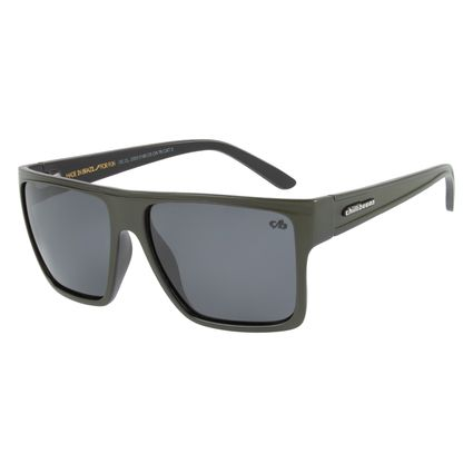 Óculos de Sol Unissex Chilli Beans Polarizado Verde Essential OC.CL.2203-0189