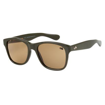 26f2ce20361a7 Óculos de Sol Unissex Chilli Beans Verde 1549