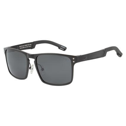 Óculos de Sol Masculino Chilli Beans Preto Polarizado .AL.0105-0131