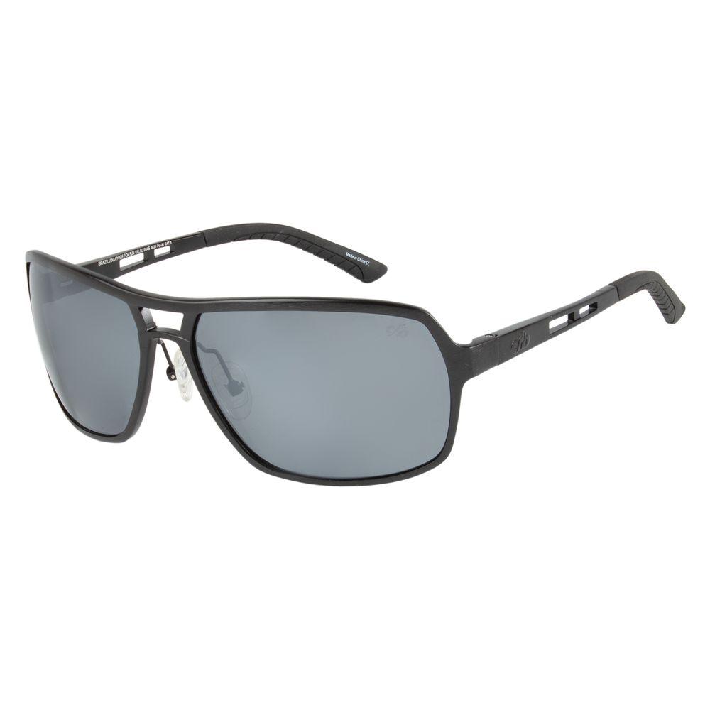 Óculos de Sol Masculino Chilli Beans Preto Polarizado OC.AL.0045-0031