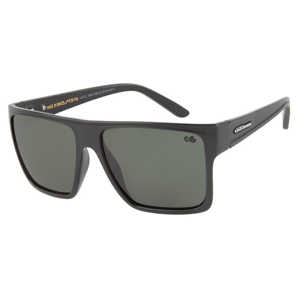 Óculos de Sol Unissex Chilli Beans Verde Essential OC.CL.1058-0126