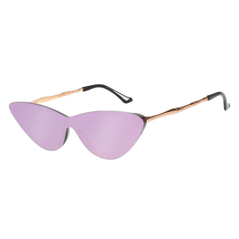 Óculos de Sol Feminino Chilli Beans Gio Ewbank Narrow Rosé OC.CL.2503-1395