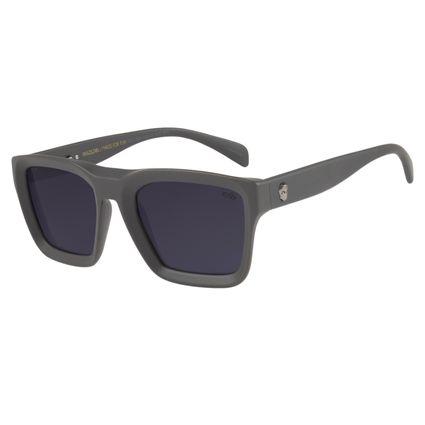 Óculos de Sol Masculino Chilli Beans Caveira Cinza Escuro OC.CL.2527-0128