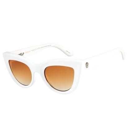 82a03af2bfa3f Óculos de Sol Feminino Caveira 2018 Branco 2529