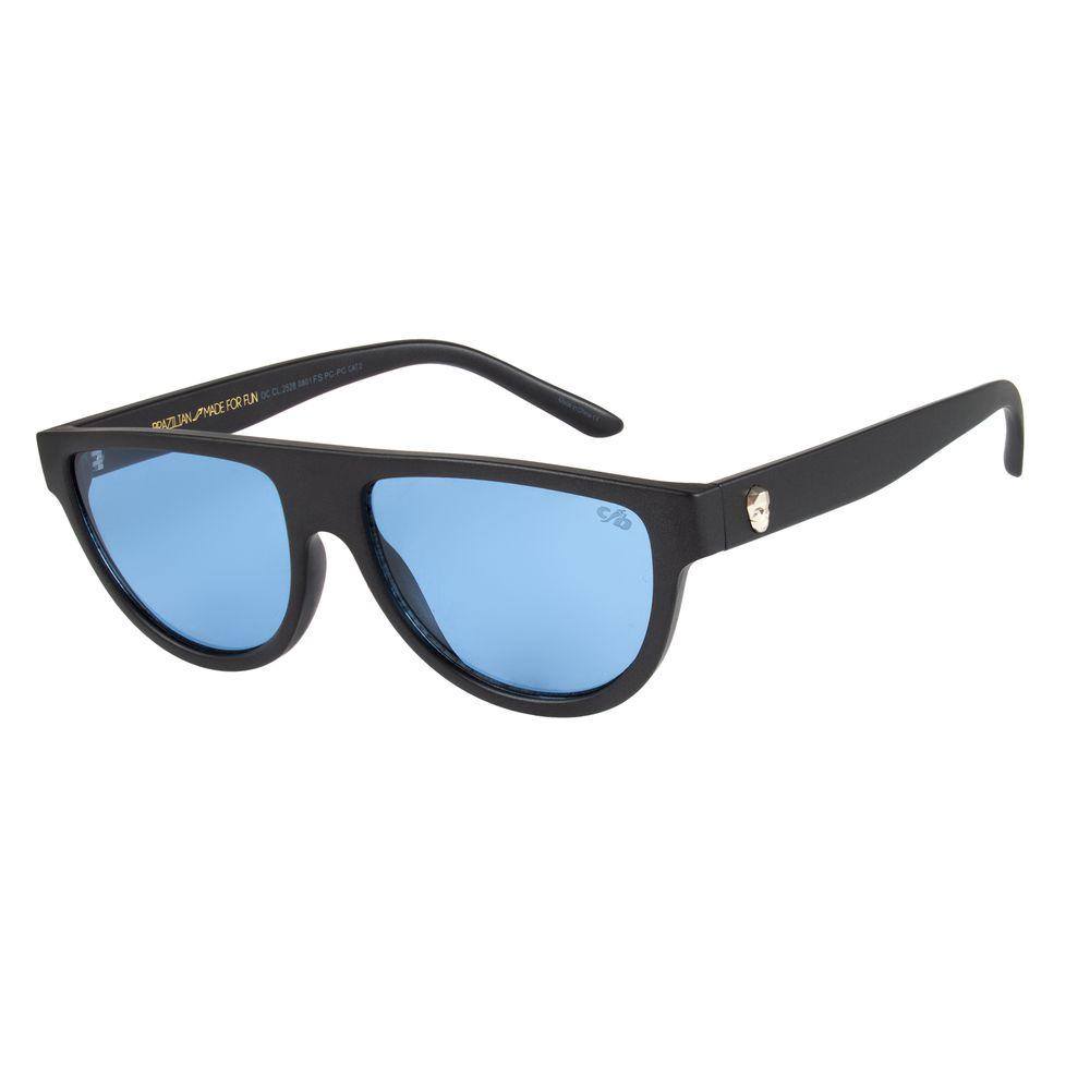 Óculos De Sol Unissex Chilli Beans Caveira Azul OC.CL.2528-0801