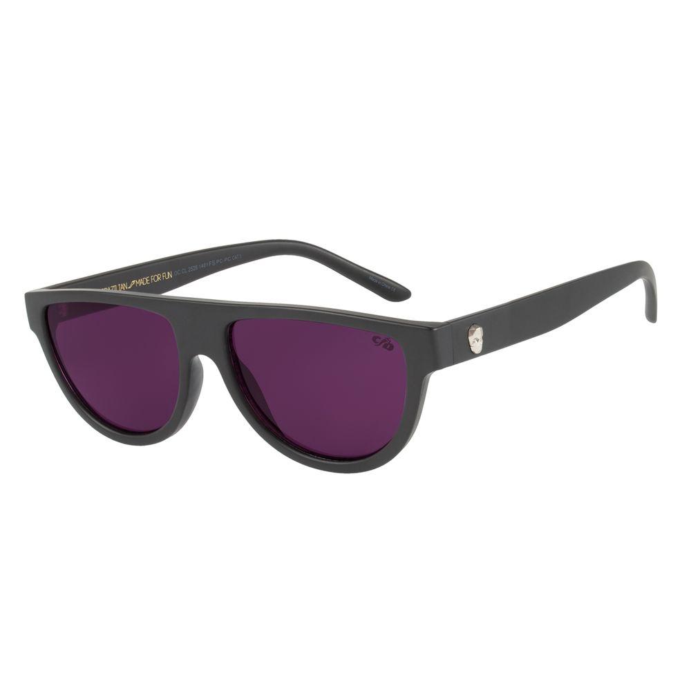 Óculos De Sol Unissex Chilli Beans Caveira Roxo OC.CL.2528-1401