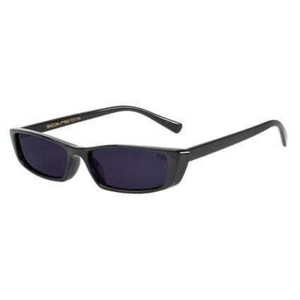 Óculos de Sol Feminino Caveira Quadrado Preto OC.CL.2531-0101