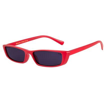 Óculos de Sol Feminino Caveira Quadrado Vermelho OC.CL.2531-0116