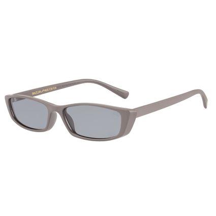 Óculos de Sol Feminino Caveira Quadrado Cinza OC.CL.2531-0404