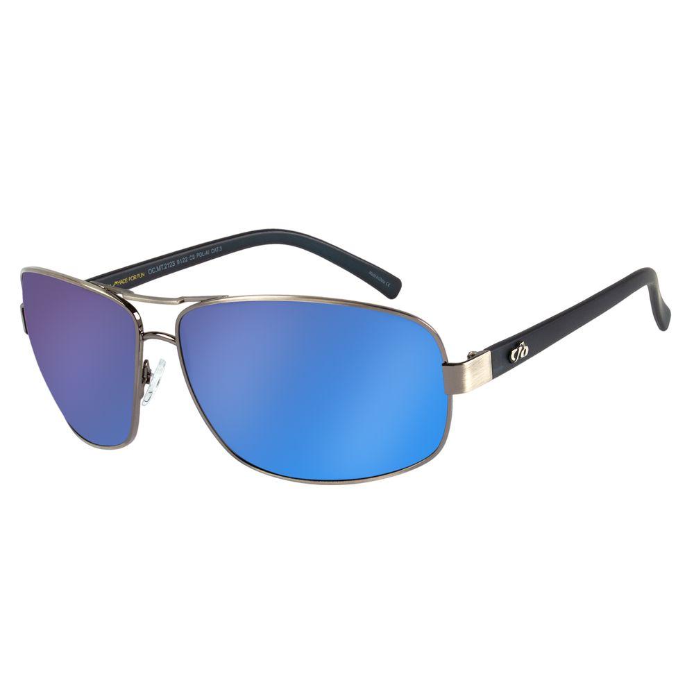 Óculos de Sol Masculino Chilli Beans Essential Executivo Espelhado OC.MT.2123-9122