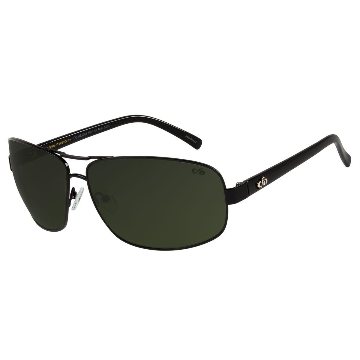 e4650c4b8 Óculos de Sol Chilli Beans Masculino Executivo Preto - OC.MT.1953.1501.  REF: OC.MT.1953.1501. OC.