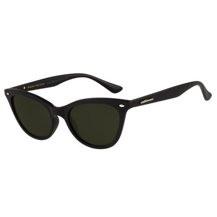 18b0b97b371 Óculos de Sol Unissex Chilli Beans Preto 2491