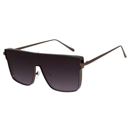 cca6a25833fc0 Óculos de Sol Unissex Chilli Beans Marrom 2442