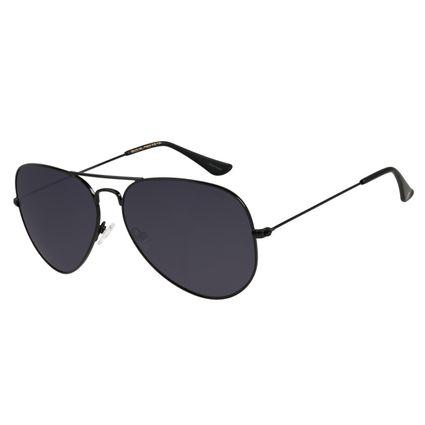 Óculos de Sol Unissex Chilli Beans Aviador Preto OC.MT.2515-0101