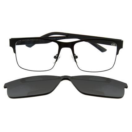 Armação Para Óculos de Grau Masculino Chilli Beans Multi Preto LV.MU.0109-0101.6