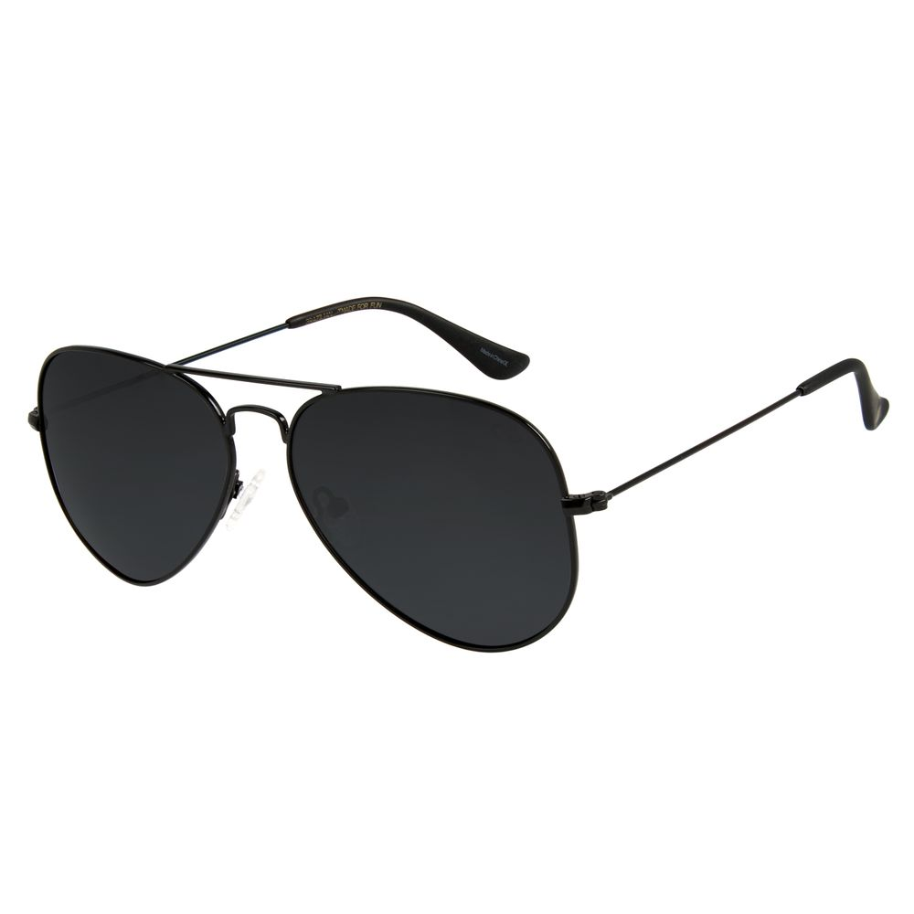 Óculos de Sol Chilli Beans Aviador Fosco Polarizado Unissex OC.MT.2514-0131