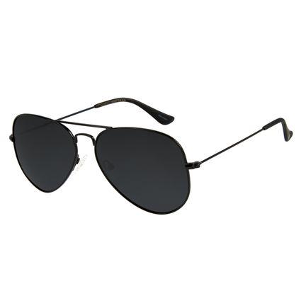 Óculos de Sol Unissex Chilli Beans Aviador Fosco Polarizado OC.MT.2514-0131