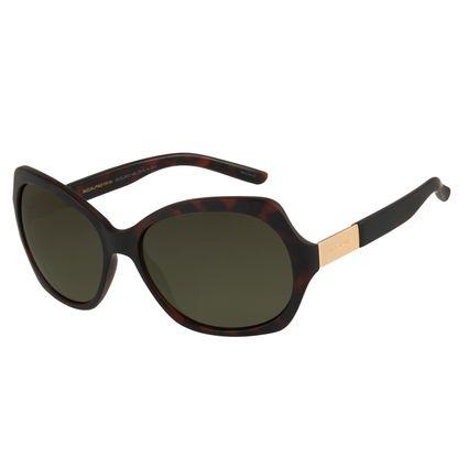 Óculos De Sol Feminino Chilli Beans Quadrado Essential Tartaruga OC.CL.2472-1506