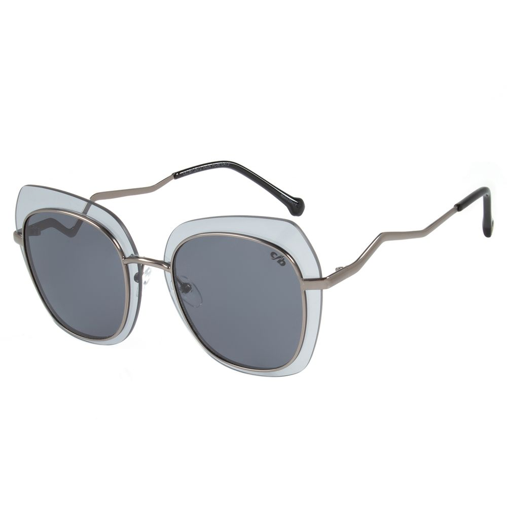Óculos de Sol Feminino Chilli Beans Quadrado Fashion Grafite OC.MT.2472-0424