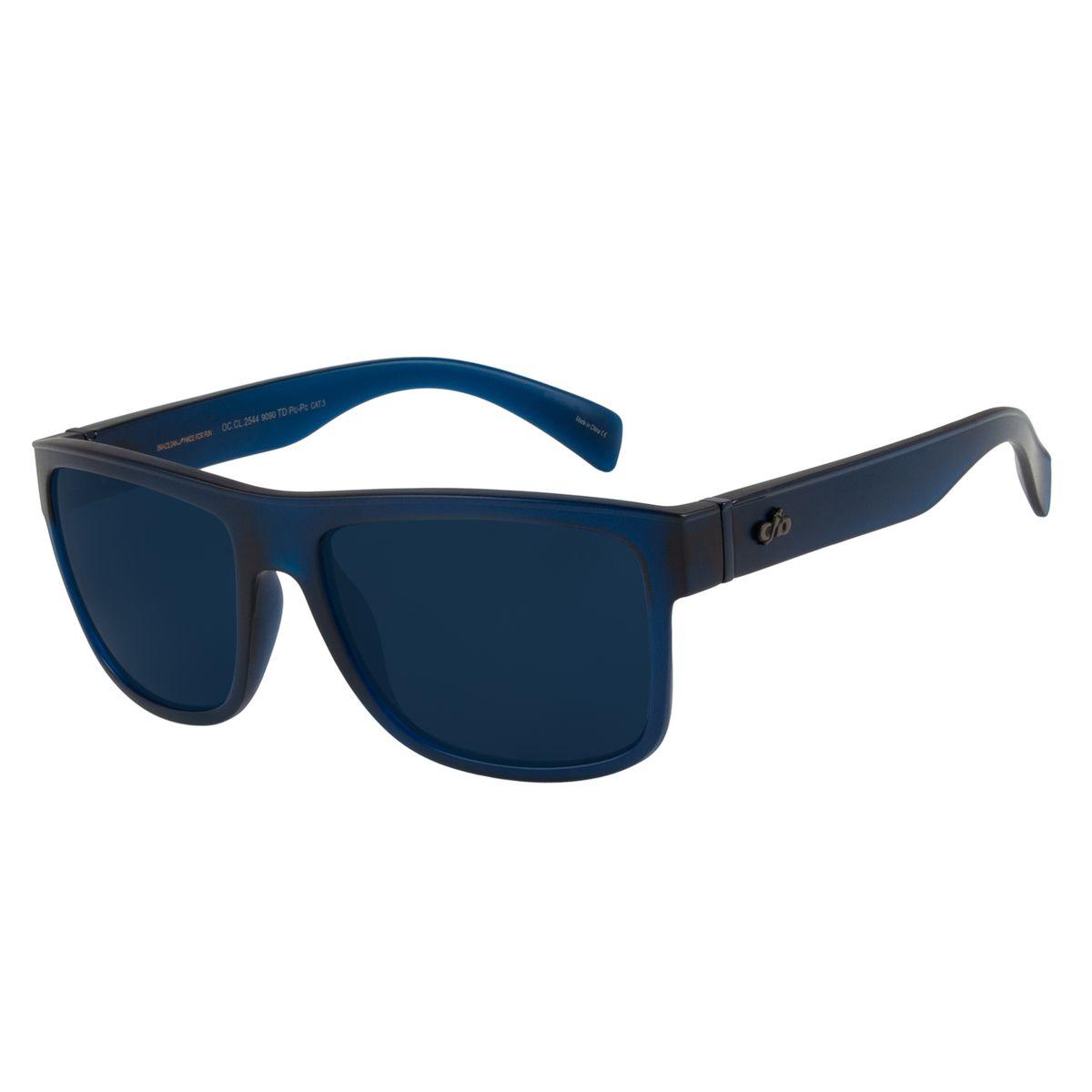 19543005ec9d9 Óculos De Sol Chilli Beans Masculino Bossa Nova Azul 2544 - Chilli Beans