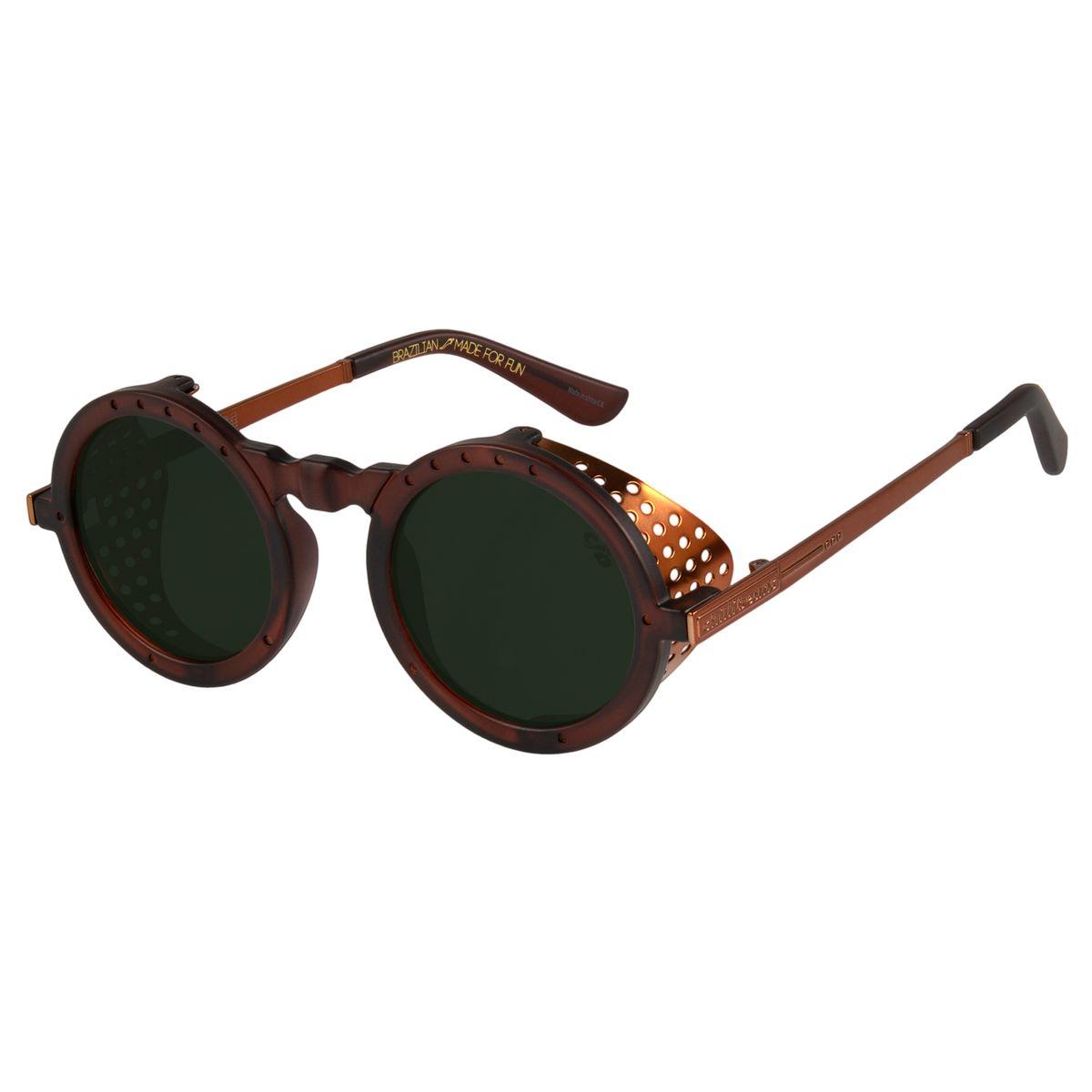 63c1136c9 Óculos de Sol Infantil Alok Marrom 2557 - Chilli Beans