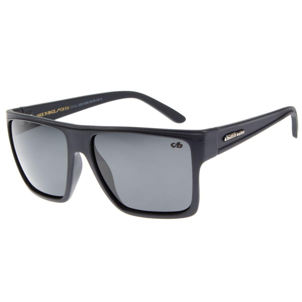 Óculos de Sol Unissex Chilli Beans Azul Polarizado Essential OC.CL.2203-0535