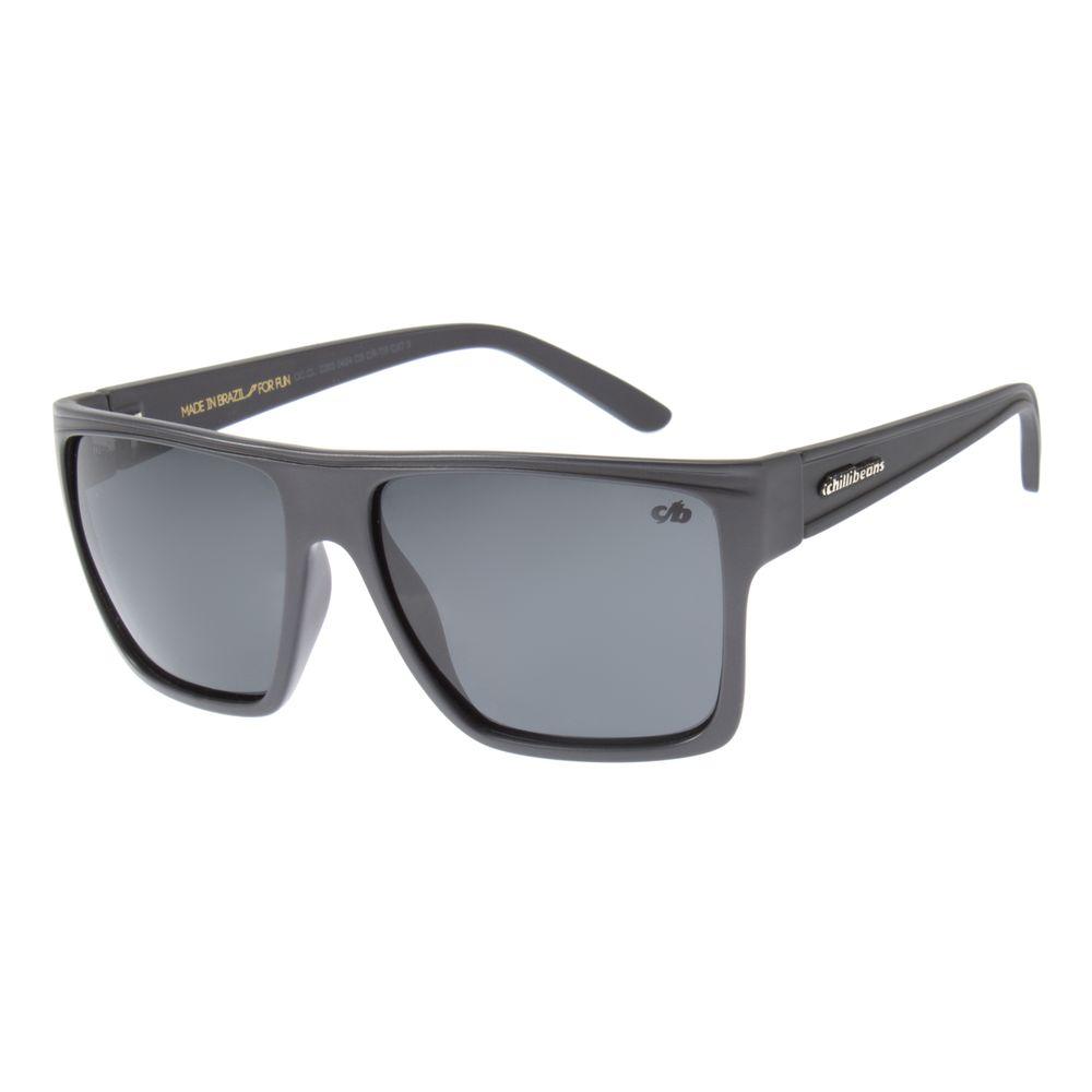 Óculos de Sol Unissex Chilli Beans Verde Polarizado Verde OC.CL.2203-0426