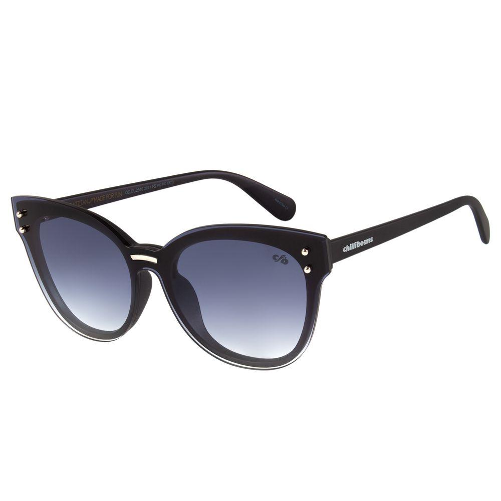 308886694837a Óculos de Sol Feminino Chilli Beans Preto 2510 - OC.CL.2510.2031 G.  OC.CL.2510.2031