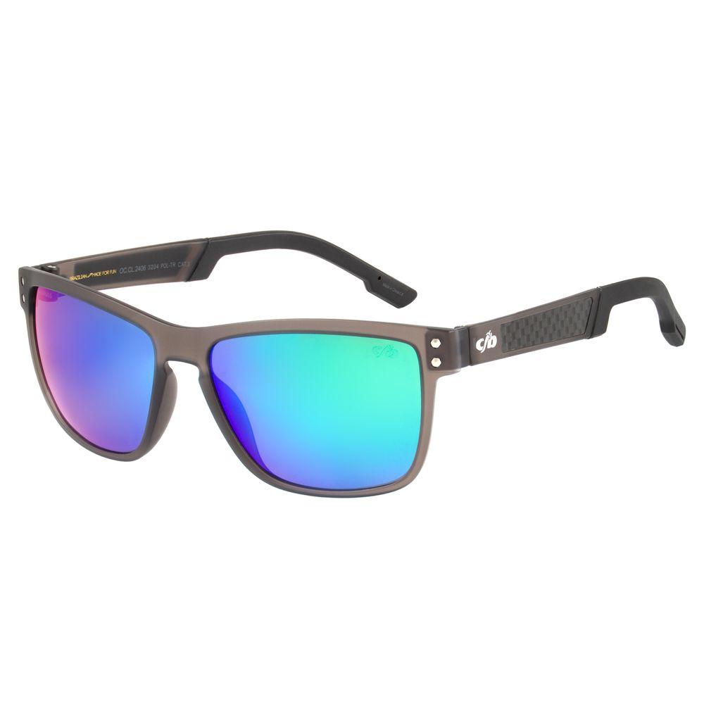 Óculos de Sol Masculino Chilli Beans Quadrado Espelhado Polarizado OC.CL.2406-3204