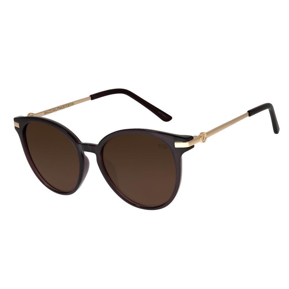 Óculos de Sol Feminino Chilli Beans Marrom OC.CL.2576-0202