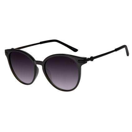 Óculos de Sol Feminino Chilli Beans Redondo Cinza OC.CL.2576-2028