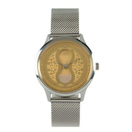 Relógio Analógico Feminino Harry Potter Vira-Tempo Prata RE.MT.0757-2107