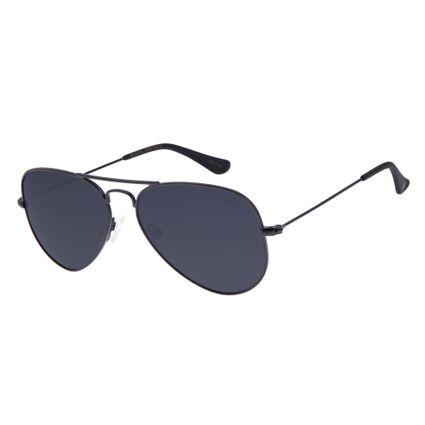 Óculos De Sol Chilli Beans Unissex Polarizado Aviador Preto OC.MT.2512-0101