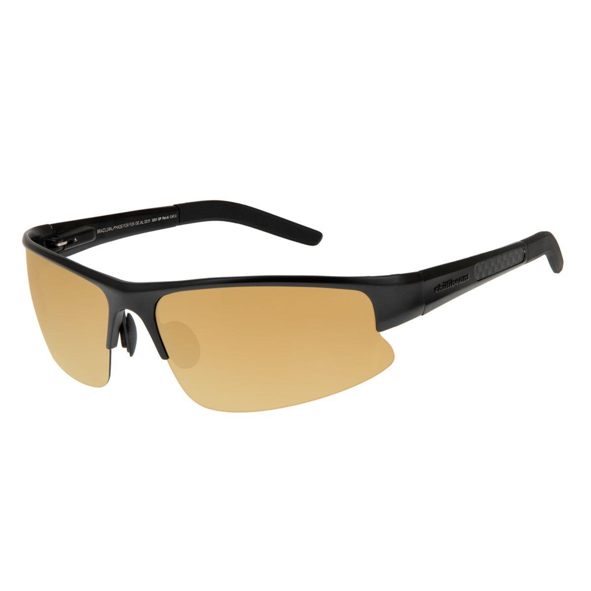 c05e5546054ae Óculos de Sol Chilli Beans Esportivo Masculino Polarizado Espelhado ...