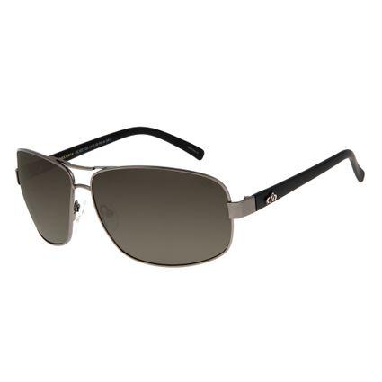 Óculos de Sol Masculino Chilli Beans Essential Executivo Ônix OC.MT.2123-0422