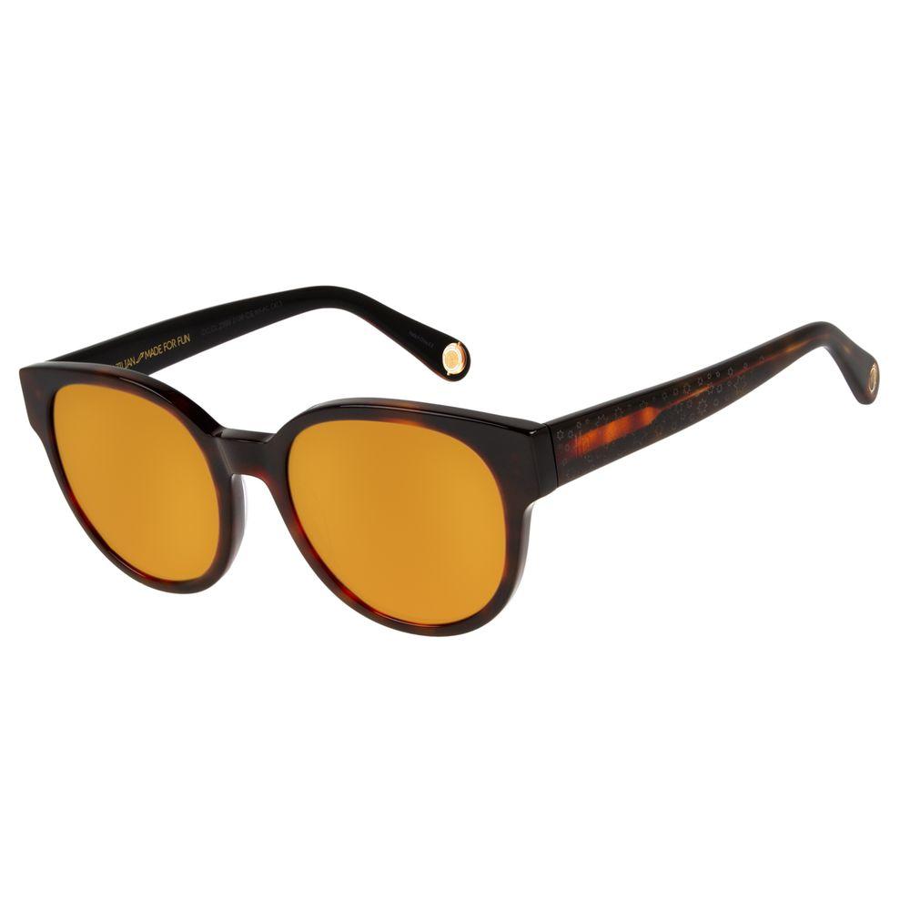 33110bfdba2ab Óculos de Sol Feminino Harry Potter Tartaruga 2599 - OC.CL.2599.2106 M.  OC.CL.2599.2106